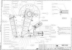Sandvik Jaw Crusher JM1208 Product Drawing Screenshot