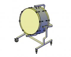 Drum 3D dwg
