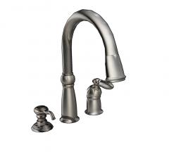 Victorian Wasserhahn und Seifenspender