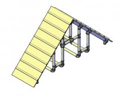 Agility Equipment 3D dwg