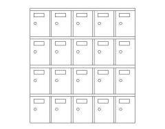 Furniture - Lockable Storage Unit