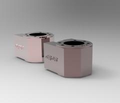 Solid-works 3D CAD Model of Nut bracket MD1605-120304