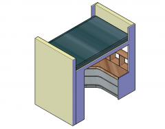Bunk Bed design 3D models