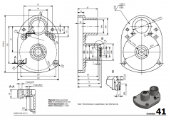 3 & 5 Axis CNC Machinable 2D CAD Drawing 41