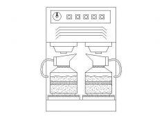 Kitchen - Coffee Machine Elevation