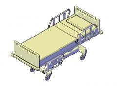 Krankenhausbett 3D-CAD-Modelle