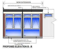 Arquitectónico - Extensión de la Escuela Primaria