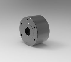 Autodesk Inventor 3D CAD Model of Freewheel with cam, Torque (N.m)2500