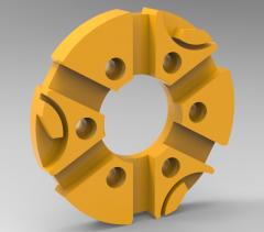 3 & 5 Axis CNC Machinable 3D CAD Model 43