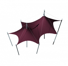 Tent structure 3DS Max model
