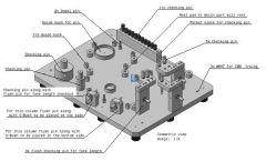 457技術的な詳細dwg。図