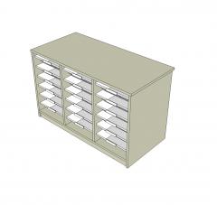 Tray store Sketchup model
