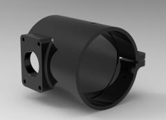 3 & 5 Axis CNC Machinable 3D CAD Model 45