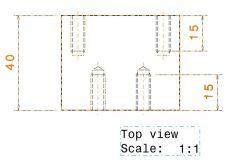 465ブロック1dwgを切り替えます。図