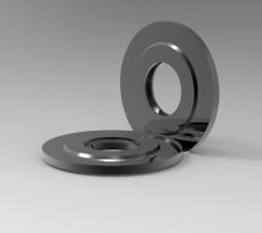 Solid-Works 3D-CAD-Modell von Spiraldichtungen DN (mm) -32 D (mm) -75