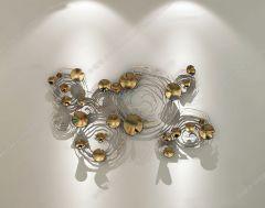 壁の装飾鉄の花3dsmax