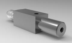 Solid-works 3D CAD Model of  Pneumatic Precision Drilling Unit, torque= 1.5 Nm