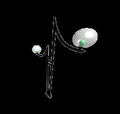 Street lamp 3DS Max model
