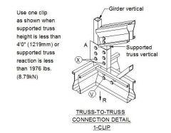 Estructural - Armadura de conexión de cercha