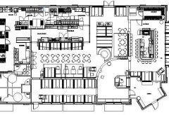 Restaurant Design 01 - Plan