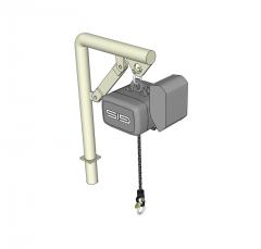 Jib crane Sketchup model