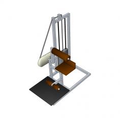 Ab machine Sketchup model