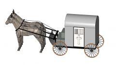Medieval Wagon Revit Family