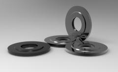 Solid-works 3D CAD Model of Spiral gaskets DN (mm)-80D (mm)-136.5