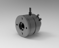 Autodesk Inventor 3D CAD Model of Electromagnetic clutch Size 02,  M (N.m)0.6