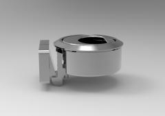 Download this Solid-works 3D CAD Model of   Snap locks l1=20l2=20l3=40