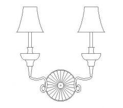 Lighting - Vintage Side Wall Lamp