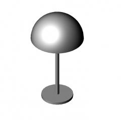 テーブルランプ3dwgおよび3DS max