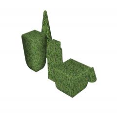 Bushes Sketchup model