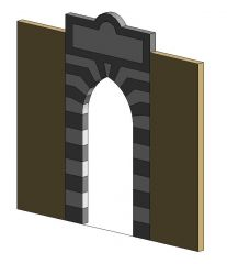 Arabian Arched Door Revit Family