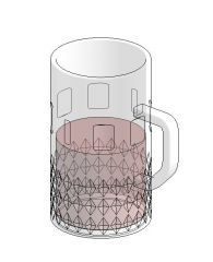Beer Mug Revit Family