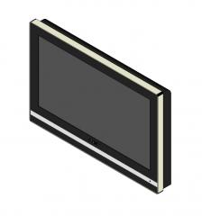 LCD TV Revit model