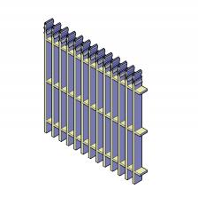 Zaun-Panel