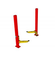 Modello di Sketchup a due montacarichi