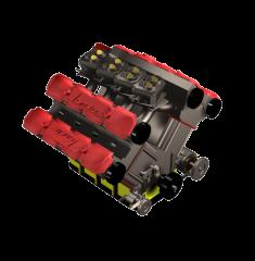 V8 engine 3DS Max model