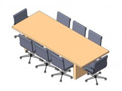 Conference Table Revit Family