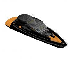 Yacht Revit model