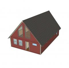 Chalet Sketchup model