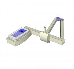 Dental xray machine Sketchup model