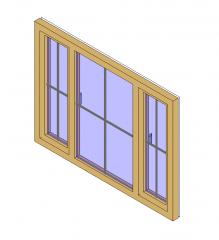 Triple-Fenster