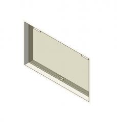 Tempered glass window Revit model