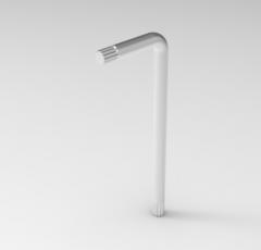 Autodesk Inventor ipt file 3D CAD Model of  keys set for spline sockets: M5