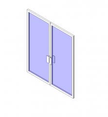 puerta principal tienda de muro cortina