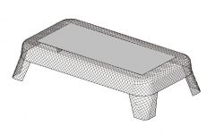 Steelcase Coalesse Emu Ivy Table Rectangular Side Revit Family