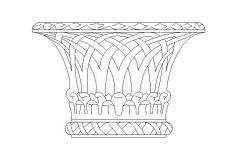 Gothic Hanging Basket
