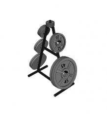 Weight tree skp model